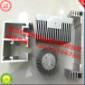 佛山铝型材厂家承接各种丝印移印铝材加工 阳极硬质氧化铝材加工